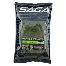SAGA Method Pellets Green Monster Micro 700g
