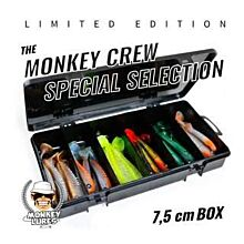 Monkey Lures Crew Special Selection LIMITED EDITION 7,5cm 36 Stuks