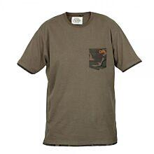Fox Chunk T-shirt Khaki Camo Pocket X-Large