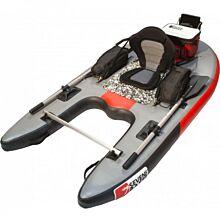 Seven Bass Design Bellyboat Jungle Operator Space Grey