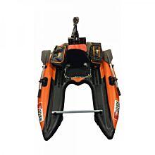 Seven Bass Design Bellyboat Flatform Flex Orange