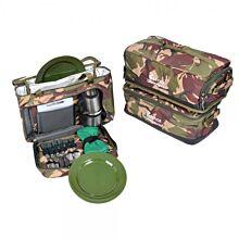 Carp Porter DPM Set Of 3 Modular Food/Bait/Tackle Bags