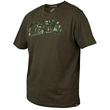 Fox Chunk Khaki Camo Print T-Shirt