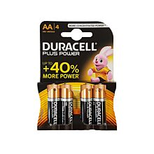 Duracell 1.5V AA 4 stuks
