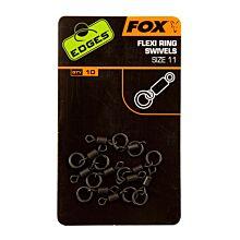 Fox Edges Flex Ring Swivel Size 11