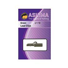 Ashima Lead Clips Dark Green