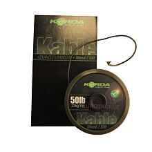 Korda Kable Leadcore Weed / Silt 7 meter 50lb