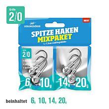 Lieblingskoder Spitze Haken Mix 2/0