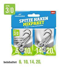 Lieblingskoder Spitze Haken Mix 3/0