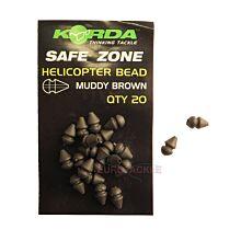 Korda Heli Bead Small Brown -