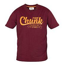 Fox Chunk T-shirt Burgundy/Orange