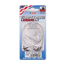 American Fishing Wire Surfstrand Leaders 1x7 5kg