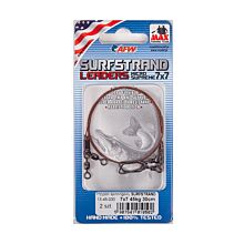 American Fishing Wire Surfstrand Leaders Big Fish 35kg