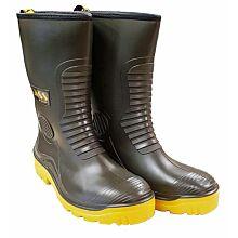 Vass R-Boot Khaki Fur Lined