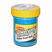 Berkley TroutBait glitter Blue Neon