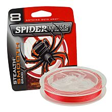 Spiderwire Stealth Smooth 8 Red per meter