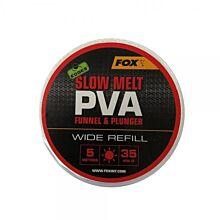 Fox Edges PVA Mesh - 5M Slow Melt Refill 35mm