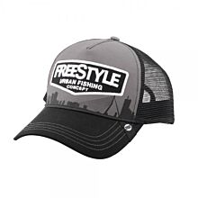 5428Spro_Freestyle_Trucker_Cap_Grey