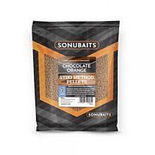 Sonubaits Chocolate Orange Stiki Method Pellets 2mm 650g