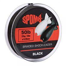 16888Spomb_Braided_Spod_Leader_Black_50m_22kg_50lb