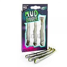 Fiiish Mud Digger Maxi Combo 5-10-15g Kaki