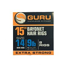 Guru Bayonet Hair Rigs 15inch