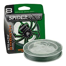 Spiderwire Stealth Smooth 8 Moss Green per meter