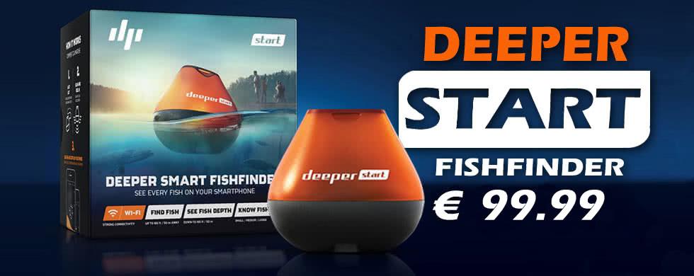 deeper, start, visvinder, deeper start fishfinder, fishfinder
