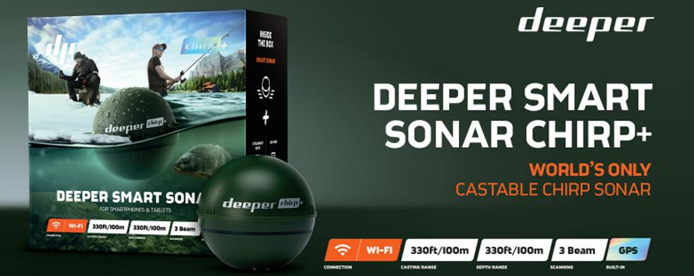 deeper, deeper fishfinder, deeper start, deeper fishfinder pro+,