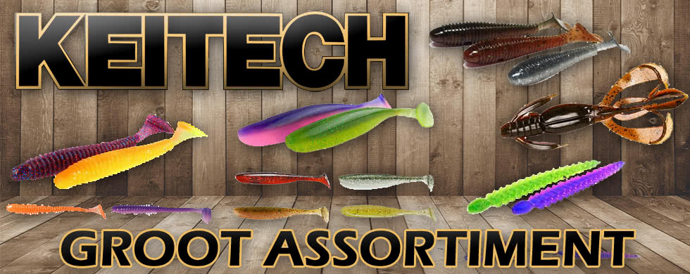 keitech, softbaits, shads, roofvis,