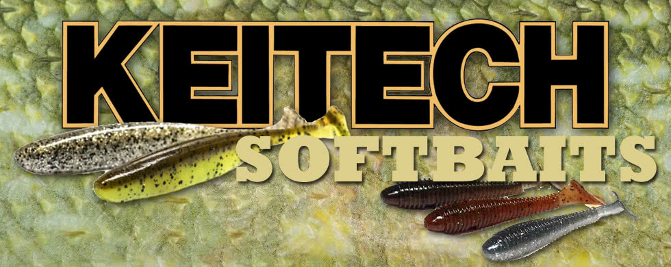 Keitech, softbaits, shads
