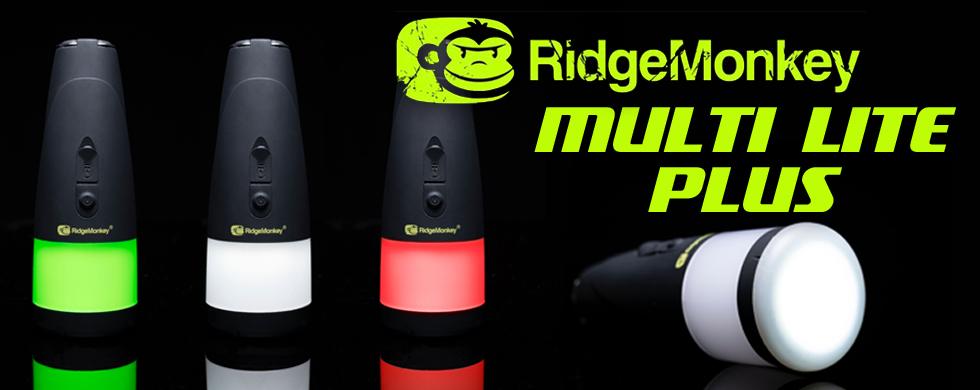 ridgemonkey, multi lite plus, verlichting, karper